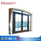Finestra di alluminio della finestra della stoffa per tendine della lega di alluminio/della stoffa per tendine reticolo orizzontale di apertura