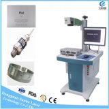 20W30W50W de Gravure die van de Laser van de vezel Machine voor ABS van het Leer pvc merken