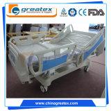 セリウムISO調節可能なCPR 7機能ICU部屋の電気病院用ベッド(GT-BE5039)