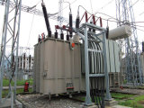 132kv/138kvオイルはサブステーションのためのロードタップ切換器のが付いている送電の定められた変圧器を浸した