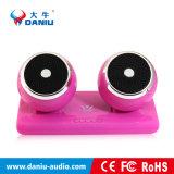 Altofalante baixo estereofónico de Bluetooth da qualidade superior com o banco da potência de 2 altofalantes