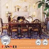 Moderne hölzerne Möbel, die Set-Speisetisch-Stuhl-hölzerne Möbel speisen