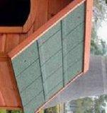 Новая деревянная большая напольная дом собаки любимчика