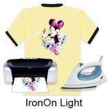 Papel de traspaso térmico de DIY para la camiseta