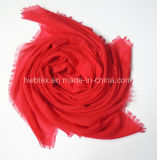 2017 Top Selling Dyed Cor natural Viscose / Polyester Scarf (HMK024)