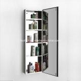 Самомоднейший шкаф зеркала ванной комнаты мебели нержавеющей стали типа (7057)