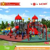 Equipo al aire libre grande de la diapositiva de los niños, precios del equipo del patio