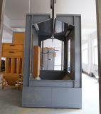 Sistema de recuperação de pó de filtro de pó de liberação rápida para cabine de pulverização