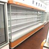 Supermarkt-geöffnete vordere Frucht-Getränk-Einkommen-Kühlvorrichtung