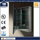 Водоустойчивый освещенный СИД шкаф зеркала безграничности тщеты ванной комнаты