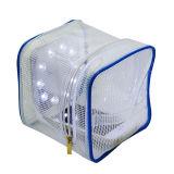 De Openlucht Opblaasbare Zonne Lichte Vervanging van de draagbare Plastic LEIDENE van de Verlichting van het Zonnepaneel van de Zak van de Ritssluiting van de Zak van het pvc- Dossier Zonne Lichte het Kamperen Lantaarn