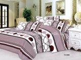 Lecho blanco llano polivinílico/del algodón fijado/ropa de cama de las colecciones del hotel