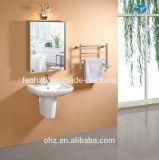 Высокое качество в европейском шкафе ванной комнаты мебели Sainless стальном (Y-7017)