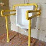 Muur aan Vloer - de opgezette ABS Nylon Staven van de Veiligheid van de Badkamers voor Urinoir