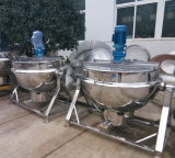Газа чайника пара чайник нагрева электрическим током чайника Jacketed Jacketed