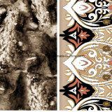 le totem Pigment&Disperse du léopard 100%Polyester a estampé le tissu pour le jeu de literie