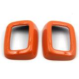 真新しいABS小型たる製造人のClubman F54 (2PCS/Set)のための物質的な紫外線保護されたオレンジカラー様式の後部座席ベルトカバー