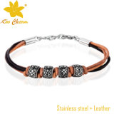 Stlb-058 Wholesale New 2016 Design Leather Bracelets mit Words