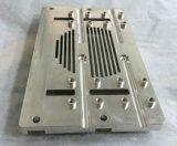 tampa 6061-T6 de alumínio com fazer à máquina do CNC da precisão
