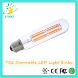 UL 열거된 LED 필라멘트 관 전구 T32 PSE 램프