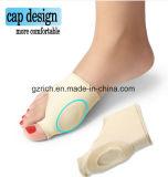 La paréntesis ortopédica del dedo gordo del cuidado de pies de la funda de la corrección de Hallux Valgus del hueso del silicón del anillo del pulgar especial del pie releva dolor del pulgar del pie