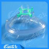 Masque remplaçable d'anesthésie de PVC de masque