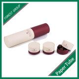Promocional caja de cartón tubo redondo Cilindro