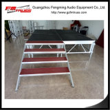 Etapa de aluminio con el buen sistema de la etapa de la canalización vertical segura