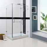 Pièce jointe assemblée de douche de coin de salle de bains