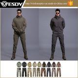 Vestito militare impermeabile tattico dei rivestimenti e di pantaloni di Softshell di colori