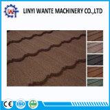 Плитка крыши скрепления металла окружающей среды содружественным покрынная камнем