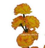 Cheminée simple fleur artificielle/en plastique/en soie de l'oeillet (XF30038)