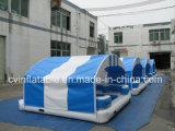 Isola di galleggiamento gonfiabile con la tenda