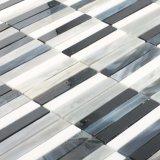 Zubehör-Kanada-Buntglas-Muster-Mosaik Mississauga Weiß-Fliese