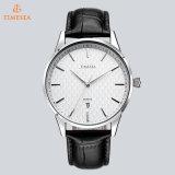 La nueva venda de acero del reloj de manera mira los relojes promocionales de lujo 72449 del cuarzo de los hombres