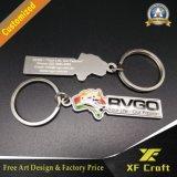 Fachmann kundenspezifische weicher Belüftung-Gummi-2D Schlüsselkette 3D für Andenken-Geschenk (XF-KC-P01)
