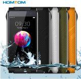 Homtom Ht20 PRO IP68 Waterproof 3GB a cor esperta áspera do preto do telefone do Android 6.0 4G Lte da tela da polegada HD do telefone de pilha 4.7 do núcleo da ROM Octa do RAM 32GB