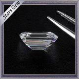 6.5X5mm 1.0 quilates esmeralda corte VVS Claridad Moissanite diamante en venta