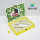 Коробка цвета бумажная с слоением пленки мягкого касания для чая