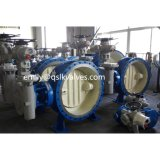 Wcb 물 공급 파이프라인의 펌프 출구를 위한 전기 움직여진 양지향성 금속 밀봉 벨브 Dq342h