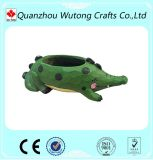 De kleurrijke Kleine Pot van de Bloem van de Tuin van de Vorm van de Hars Dierlijke