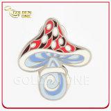 Bester verkaufender preiswerter kundenspezifischer weicher Decklack-Metallabzeichen-ReversPin