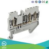 Connettore del blocchetto terminali Jut3-1.5/1-2 della molla