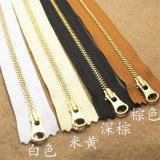 Messing, Aluminium, Plastik, Derlin, Nylon, unsichtbarer Reißverschluss, Schweber, Zipper Langkette