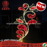 Улицы торжества национального праздника цветка СИД свет Поляк средней восточной декоративный для напольного