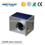 Varredor do galvanômetro da alta qualidade Js2808 do Ce para a máquina de gravura do laser