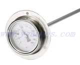 De thermometer-Oven van thermometer-Bimeter van het roestvrij staal Thermometer