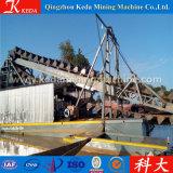 Земснаряд ведра оборудования добычи золота реки для сбывания