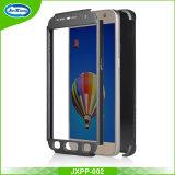 Случай сотового телефона PC полного покрытия 360 градусов защитный тонкий трудный с Tempered стеклом для Samsung S7