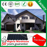 Cheap Roofing Materials Stone Coated Metal Roofing Tile Nigeria Warehouse